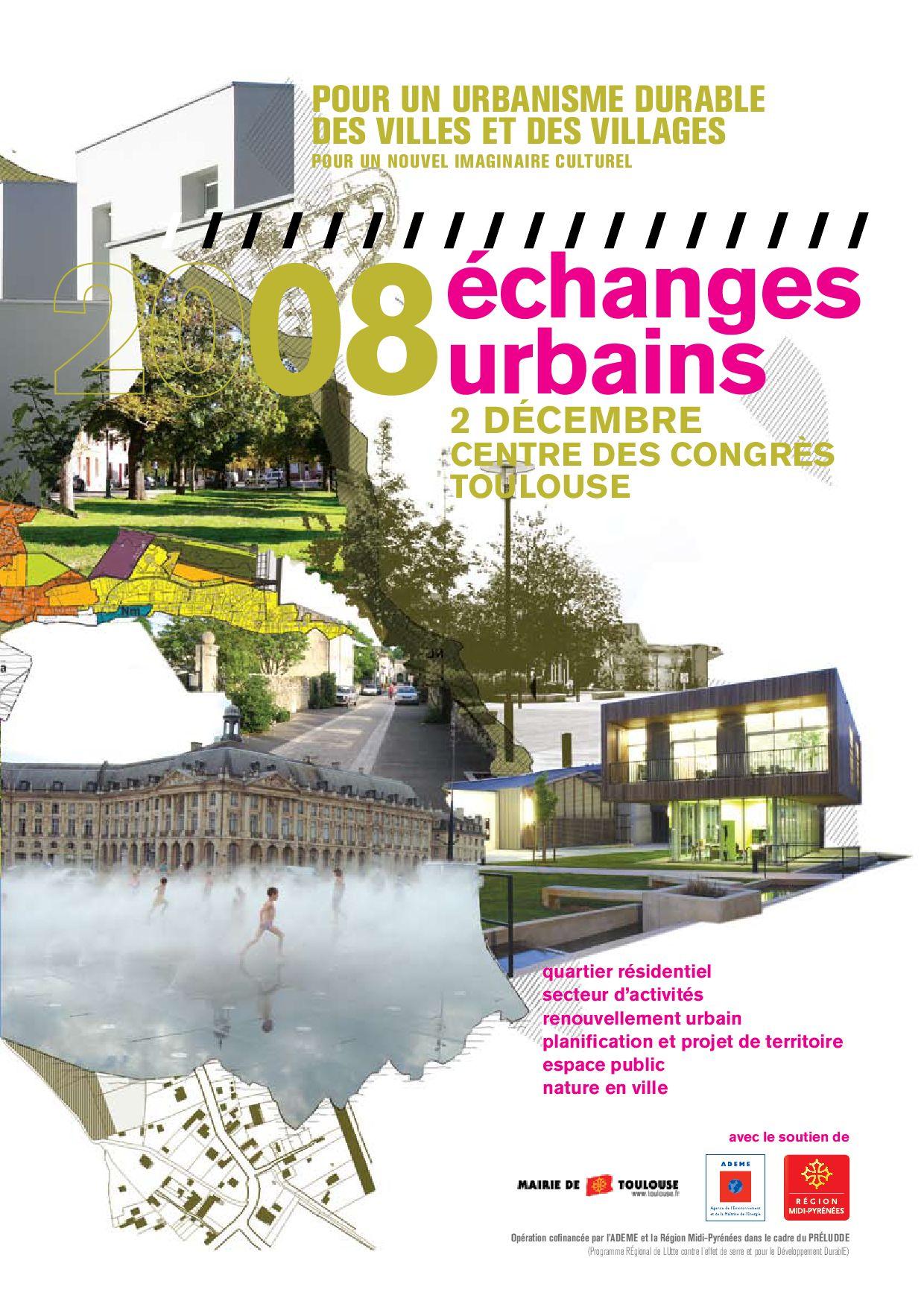 Rencontres urbanisme durable
