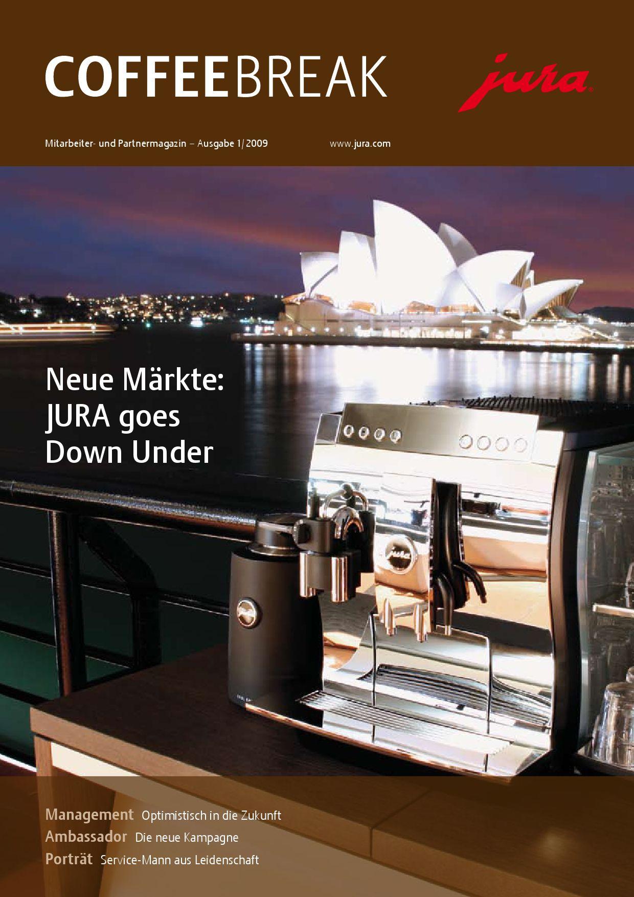 JURA Coffeebreak 1/2009 DE by JURA - issuu