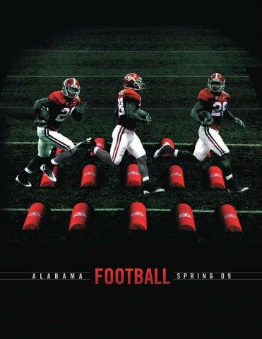 a65134af89f4 2009 Spring Football Guide by Alabama Crimson Tide - issuu