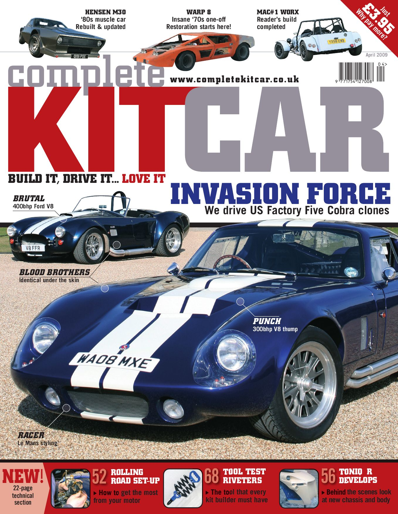 Complete Kit Car magazine April 2009 Preview by Performance ...