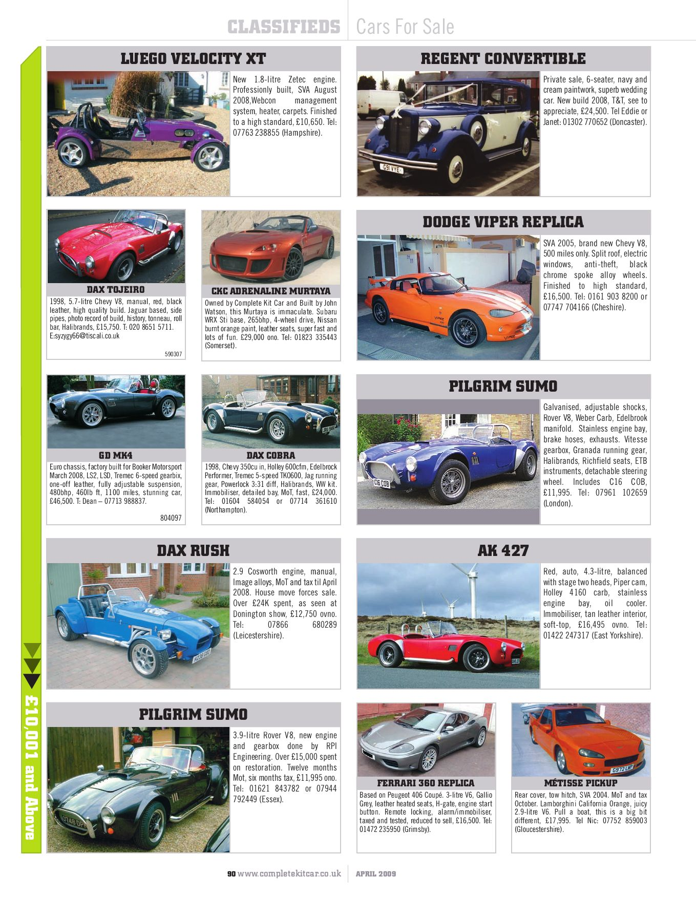Complete Kit Car Magazine April 2009 Preview By Performance