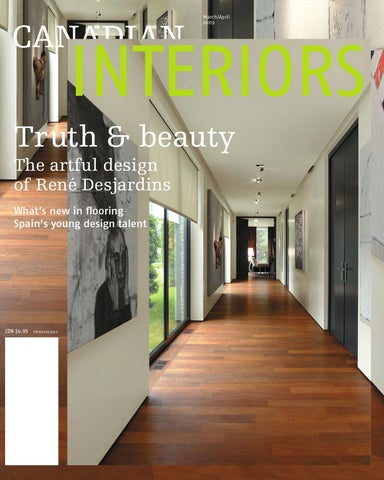 Defining Moment For Fledgling Neocon >> Canadian Interiors March April 2009 By Annex Business Media Issuu