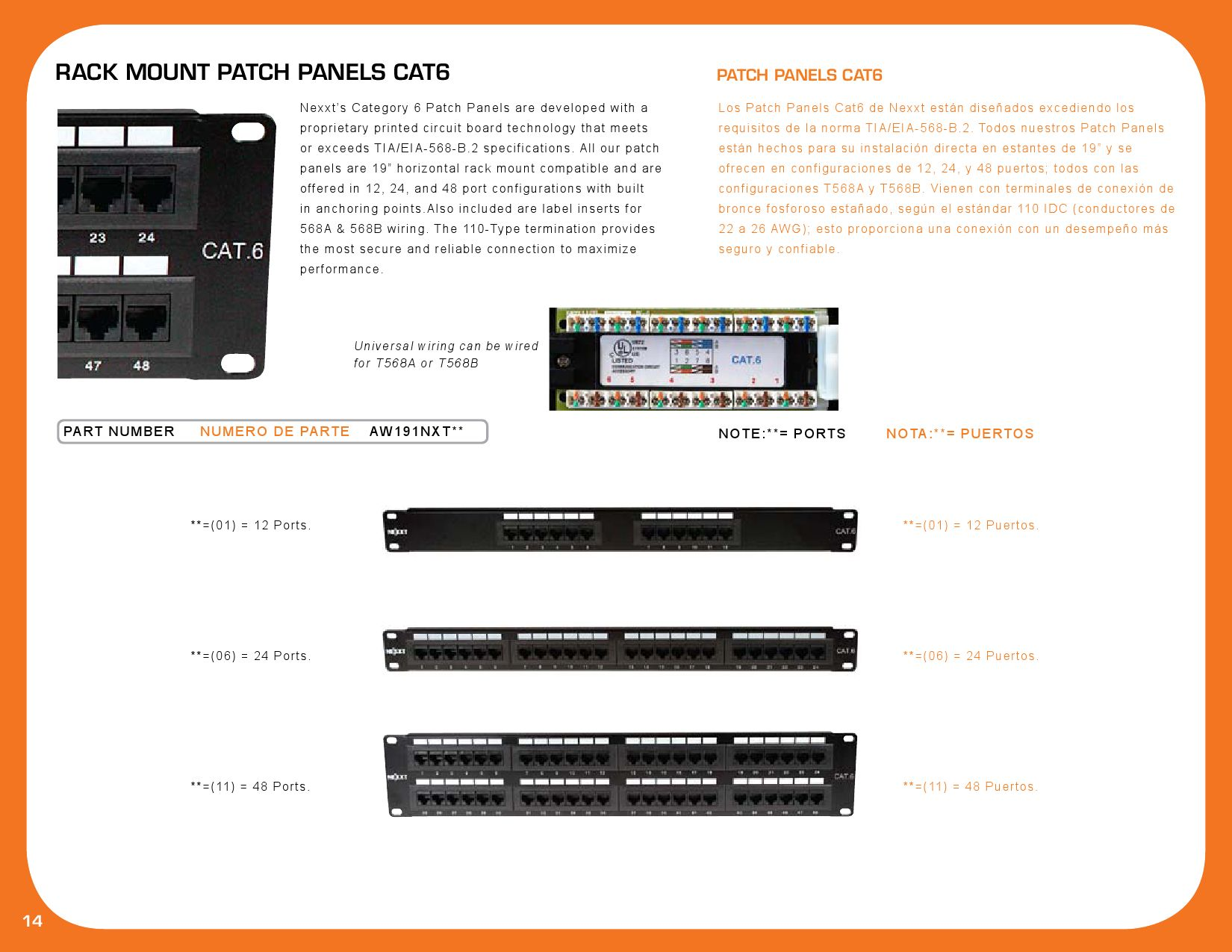 Catalogo Nexxt By Play Marketing Sa Issuu 73 Cat6 Patch Panel 110 Type 24 Port 568a B Compatible