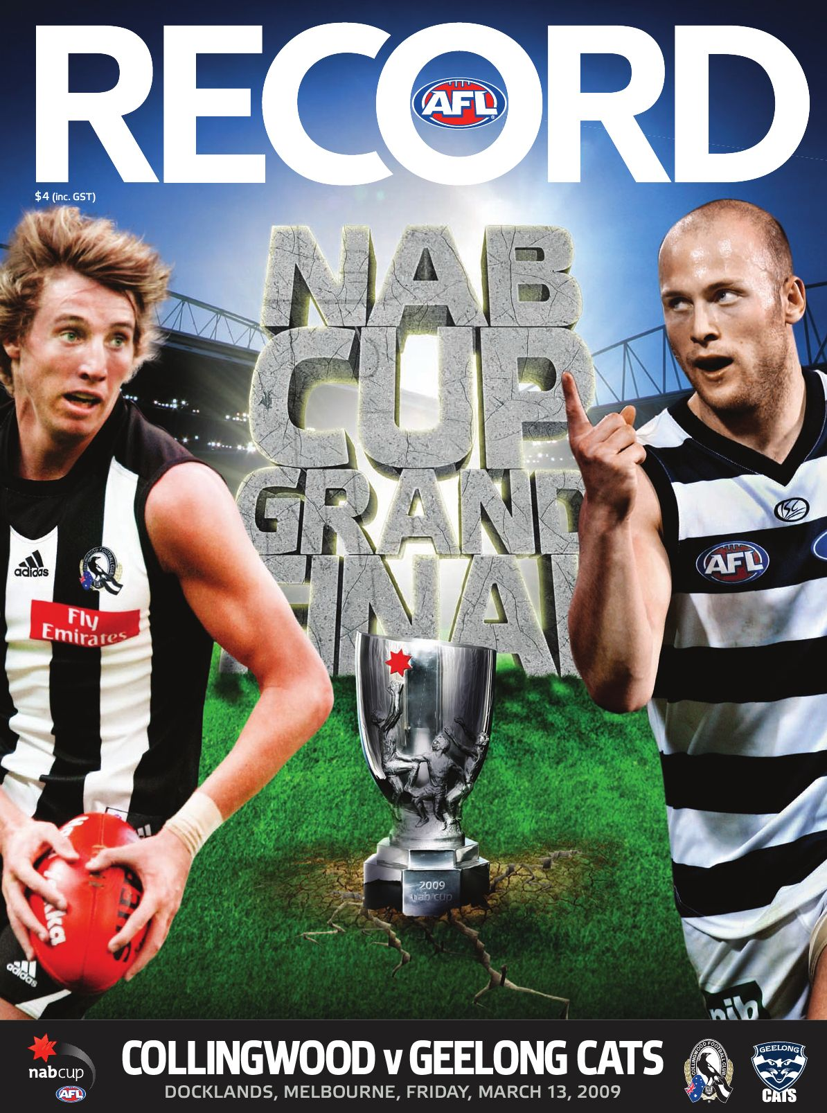 AFL Record NAB Cup Grand Final, 2009 by The Slattery Media ...