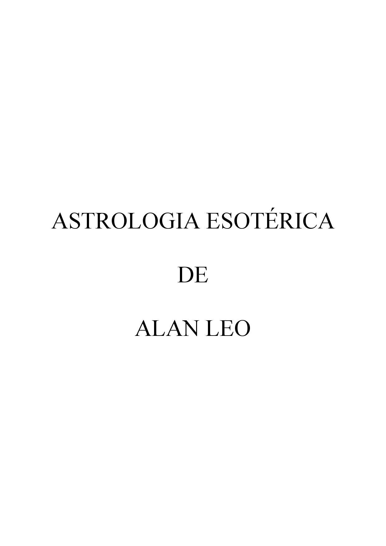 Microsoft Word - alanleoastroesote by Marco Tomaselli - issuu
