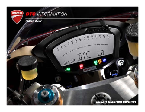 Ducati Traction Control Explained by Hell For Leather