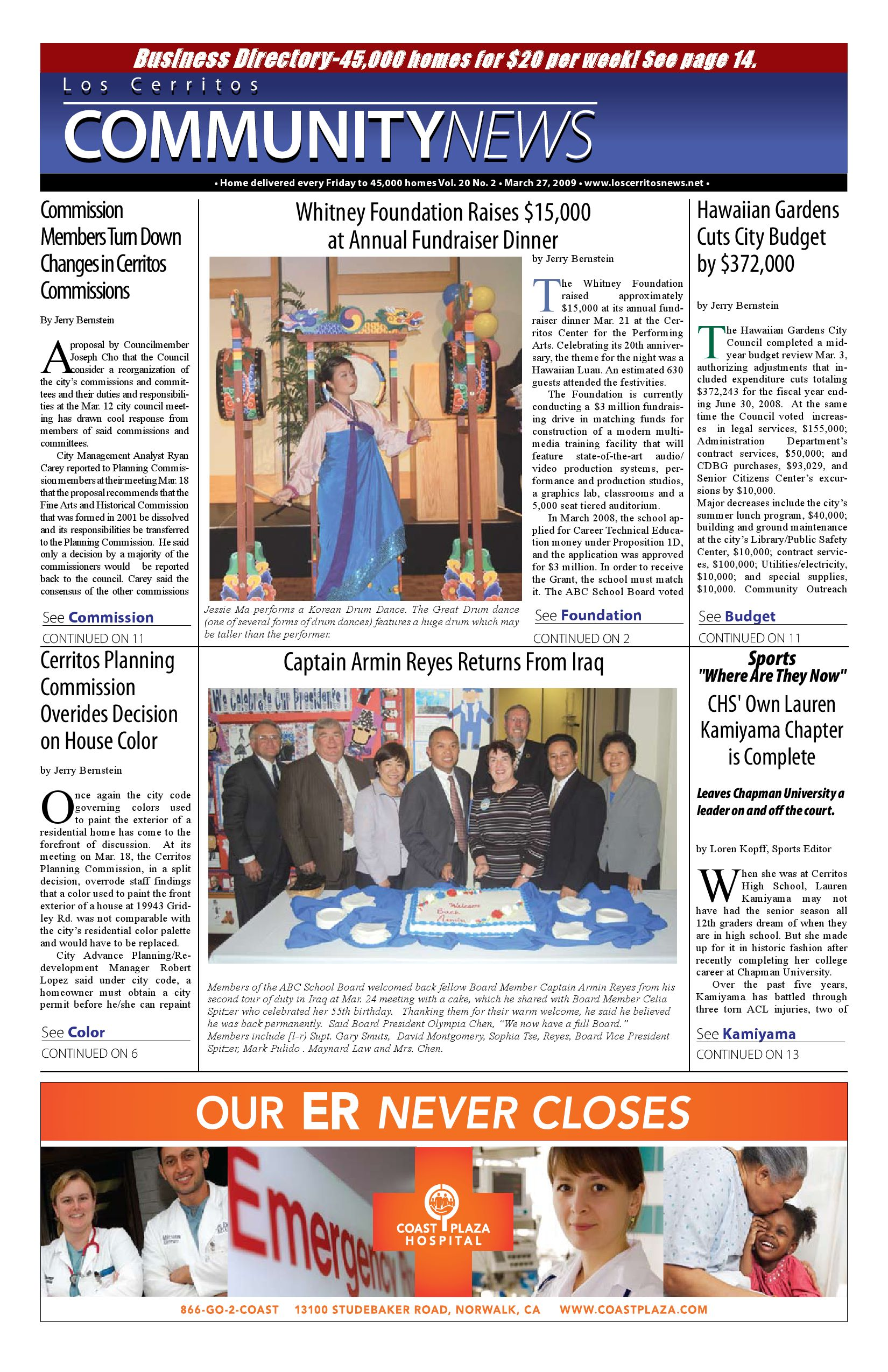 Loscerritosnews by hews media group issuu aiddatafo Gallery