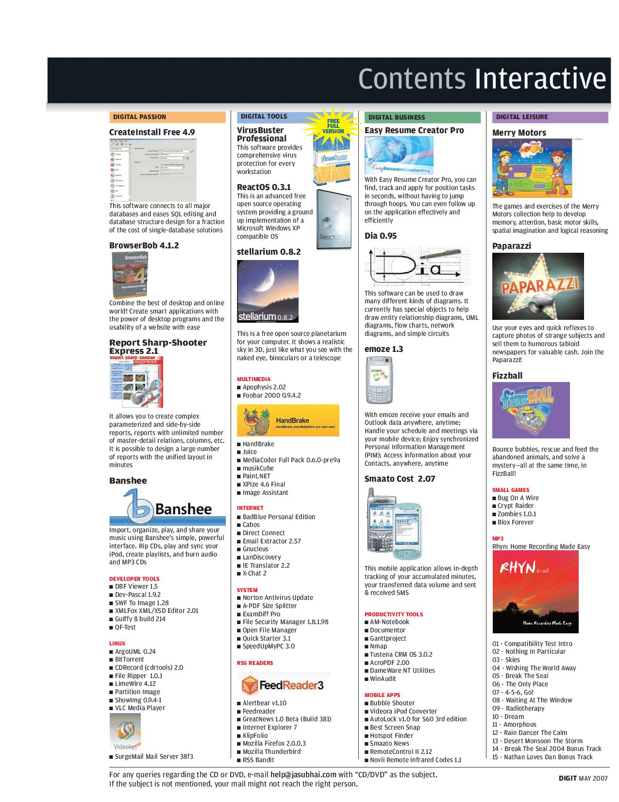 Contents_Interactive_CD_May_07 by Melwin Abraham - issuu