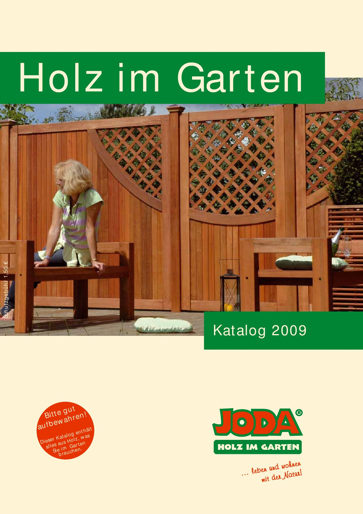 joda holz im garten katalog 2009 by gk fachmarkt issuu. Black Bedroom Furniture Sets. Home Design Ideas
