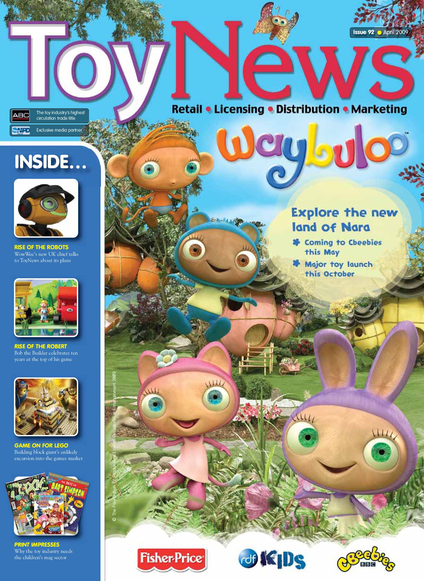 Toynews Issue 92 April 2009 By Intent Media Now Newbay