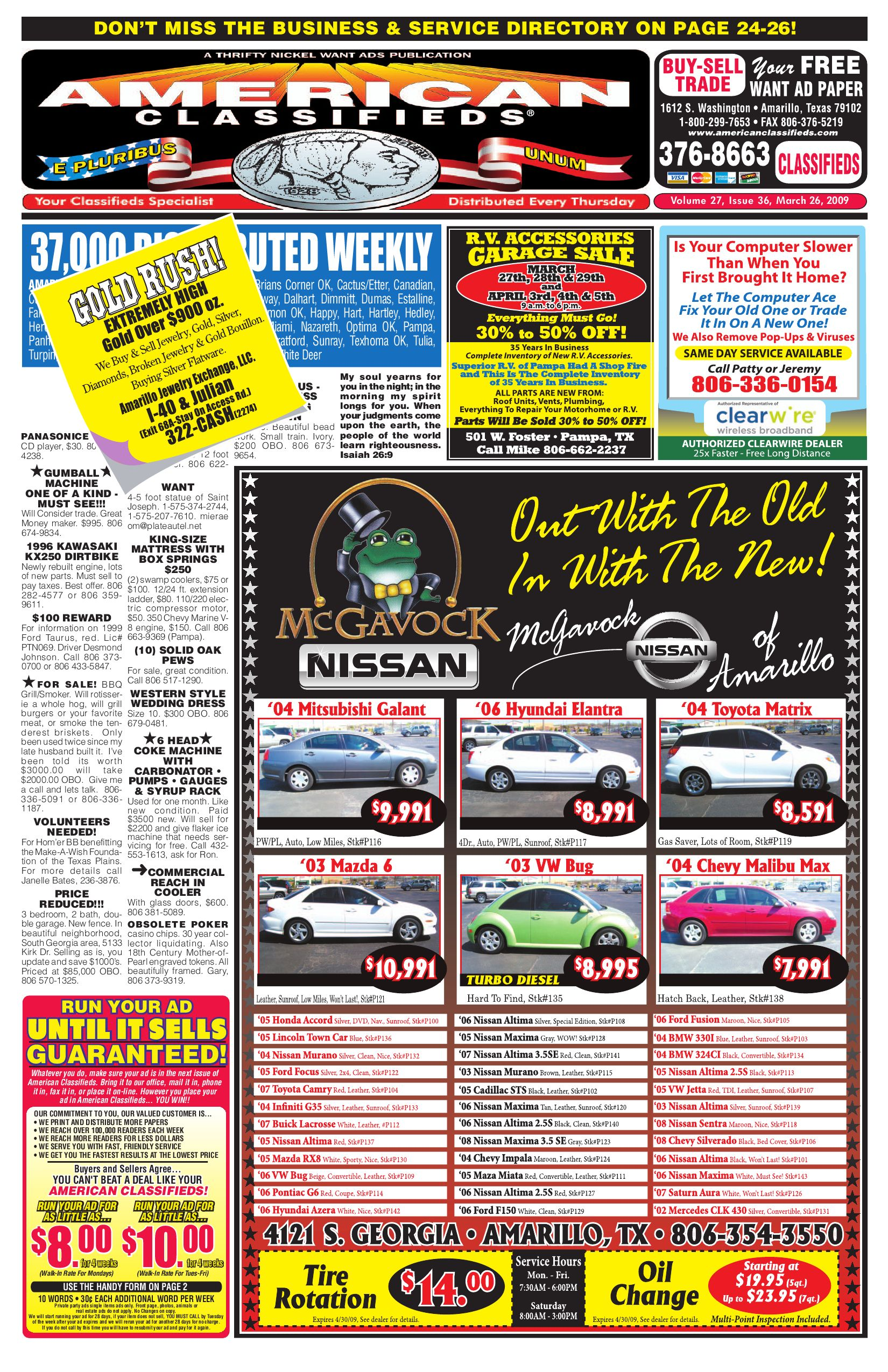 American Classifieds - Amarillo, TX by American Classifieds - issuu
