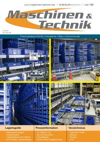 Maschinen & Technik Juli 2008 by TB Verlag - issuu