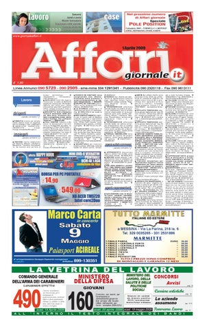 outlet store 5fd01 a3f18 Giornale Affari Mercoledi 1 Aprile 2009 by Editoriale Affari Srl - issuu
