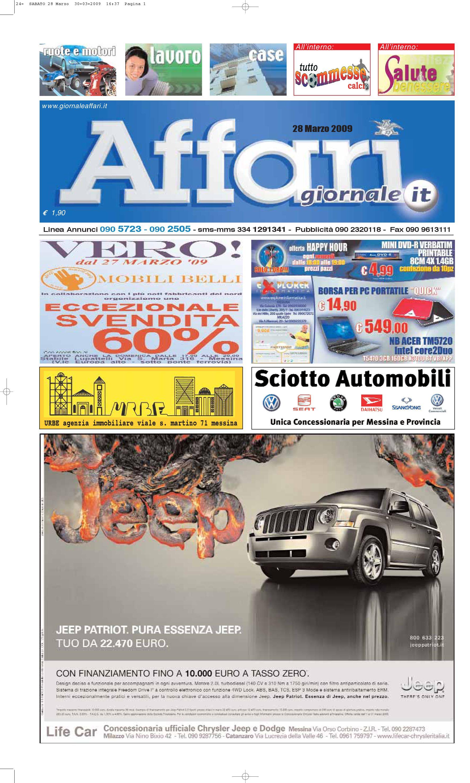Giornale affari sabato 28 marzo 2009 by editoriale affari - Giornale porta portese annunci regali ...