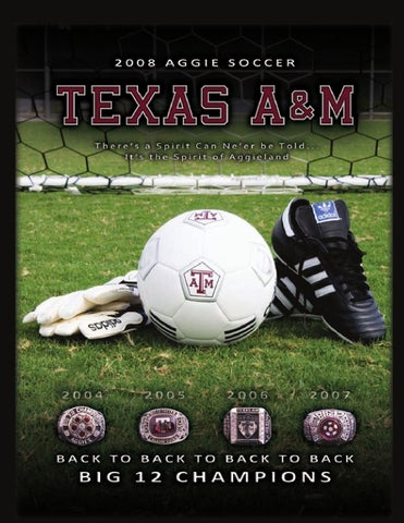 5a9ea5fc389 2008 Aggie Soccer Media Guide by Jonathan Lee - issuu