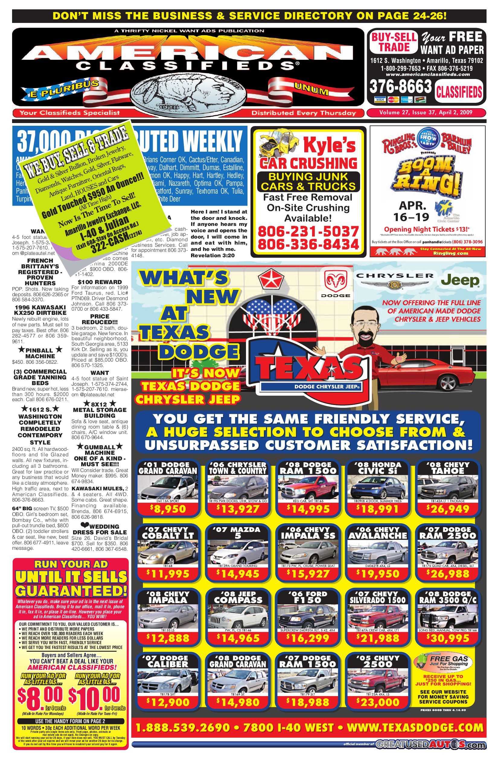 American Classifieds - Amarillo, TX by American Classifieds