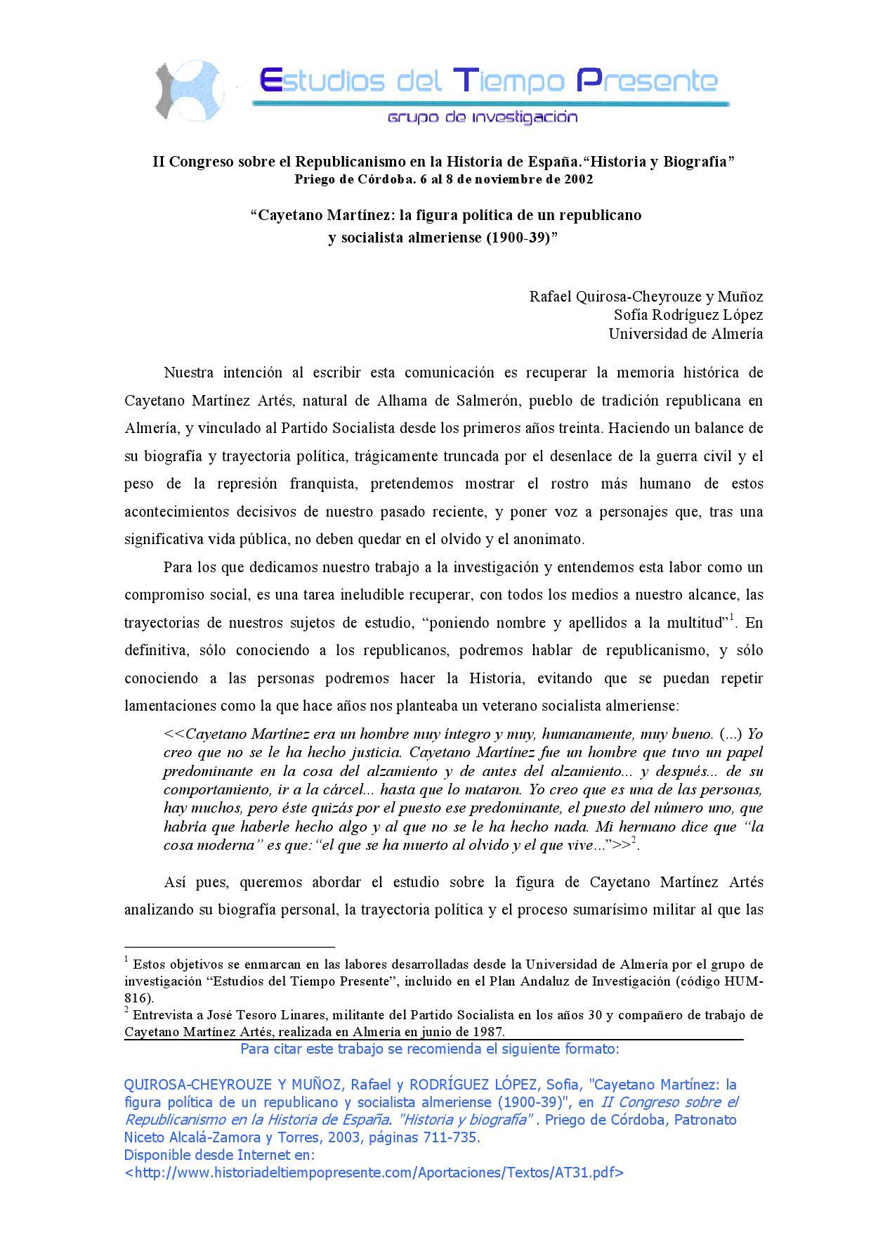 Microsoft Word At31 By Grupo De Investigaci N Estudios Del  # Muebles Tusell Medina Campo