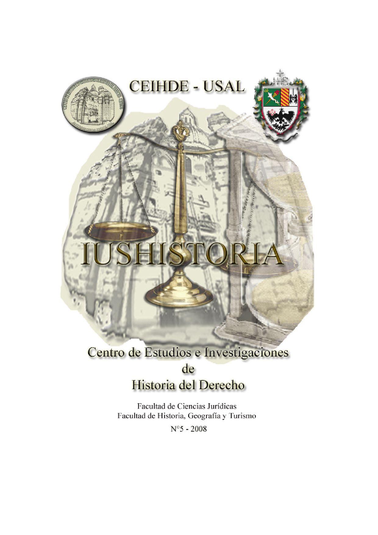 Iushistoria By Facultad De Ciencias Jur Dicas De La Universidad  # Muebles Borrero Alosno