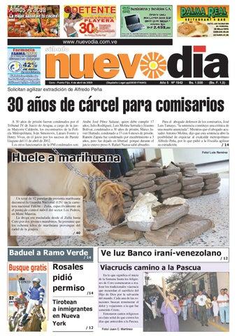 e5c2246030c6 Diario Nuevodia Sábado 04-04-2009 by Diario Nuevo Día - issuu