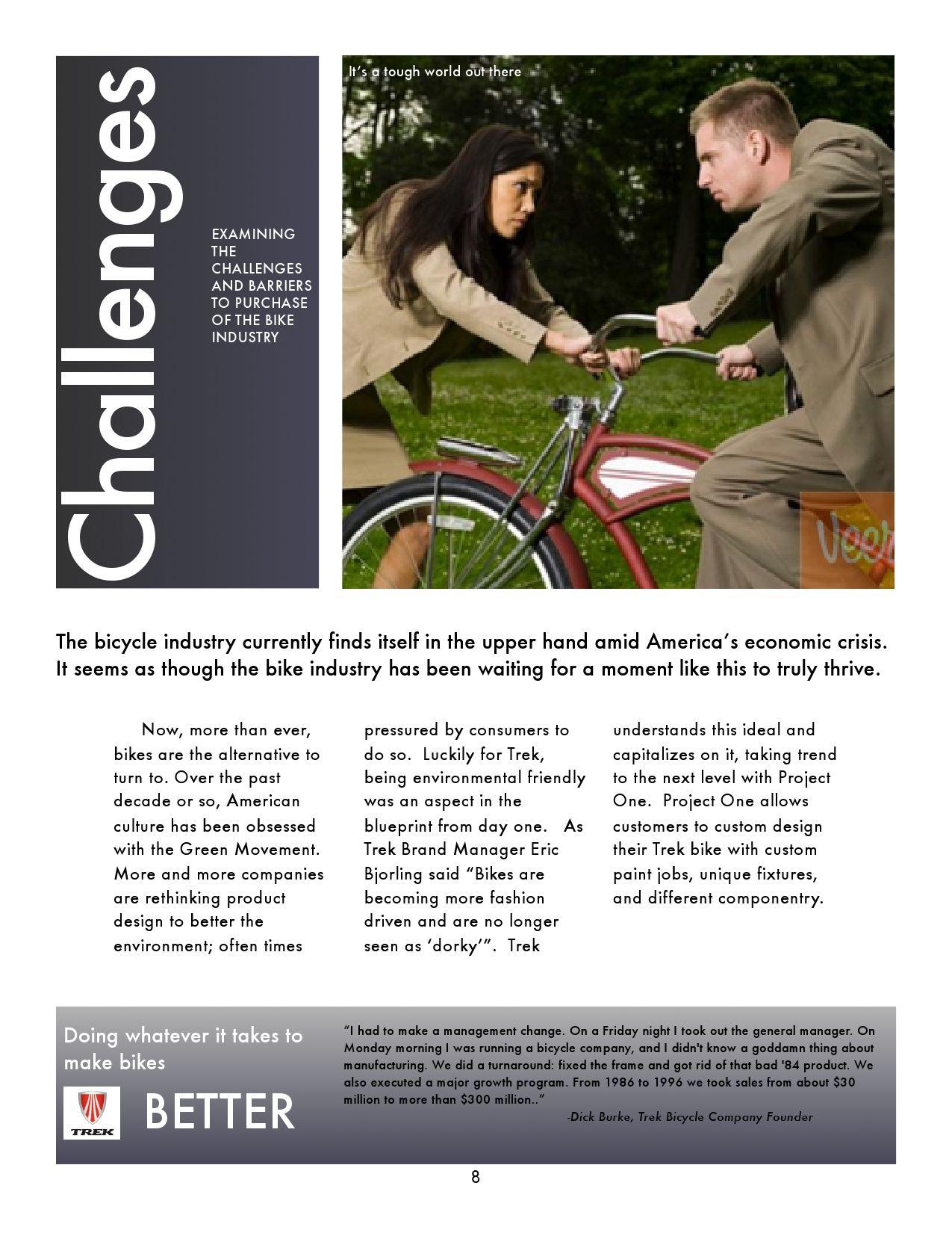 Trek Bicycle Brand Analysis by Sara Johnson - issuu