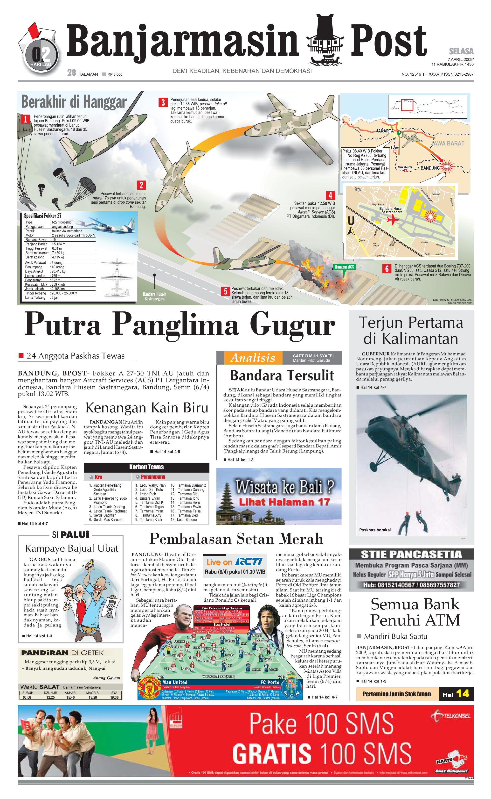 Banjarmasin Post 7 April 2009 By Issuu Fcenter Meja Makan Dt Sienna Dan Dc Danish Jabodetabek