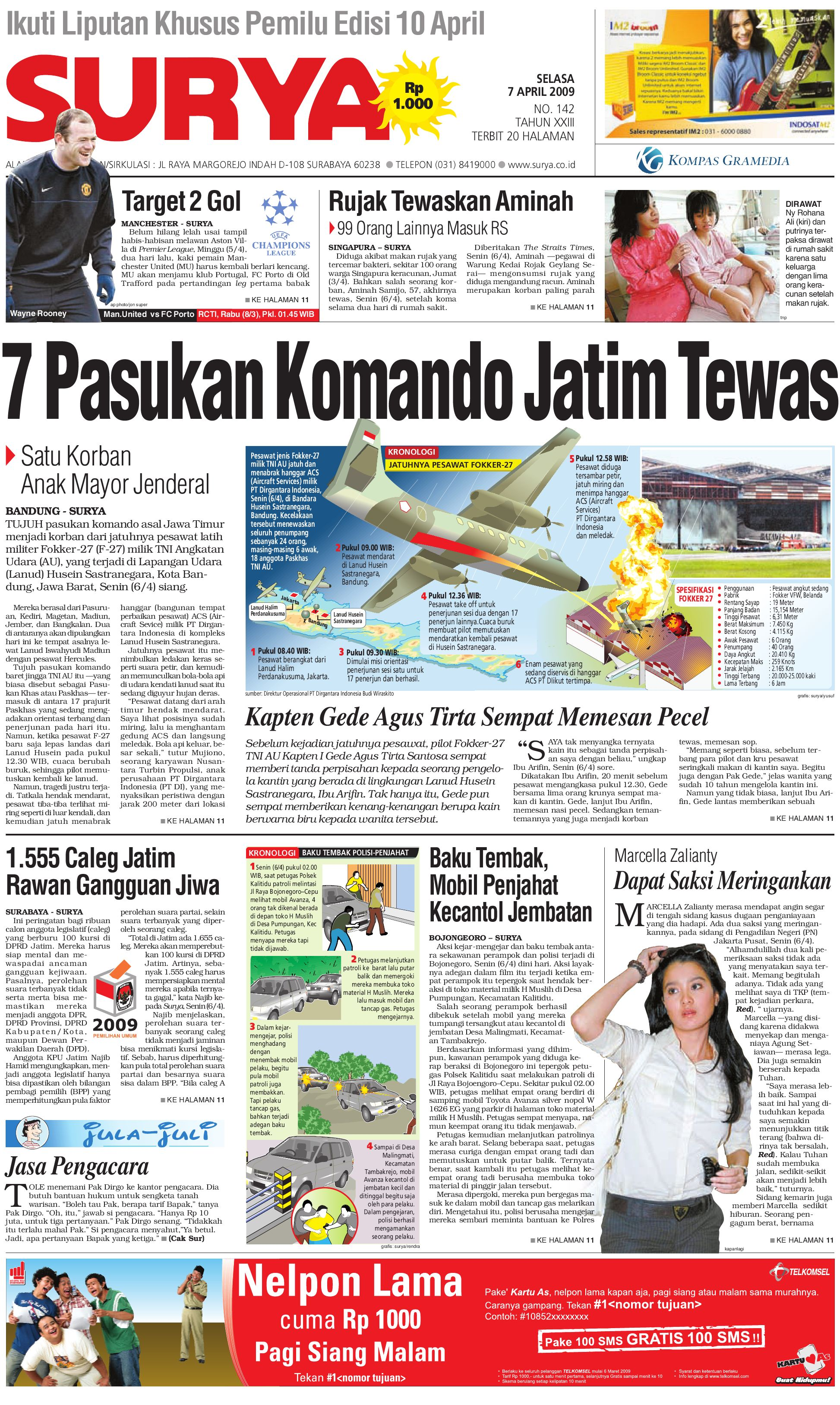 Surya Edisi Cetak 07 April 2009 by Harian SURYA - issuu 0ad54ca0b5