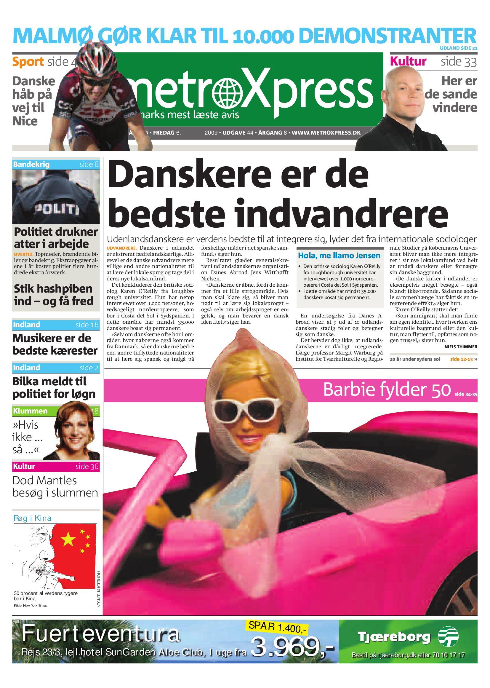 4e49763f73b MALMØ GØR KLAR TIL . DEMONSTRANTER by Metro International ...