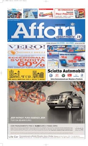 Giornale Affari Sabato 4 Aprile 2009 by Editoriale Affari Srl - issuu c6c6fac339a8