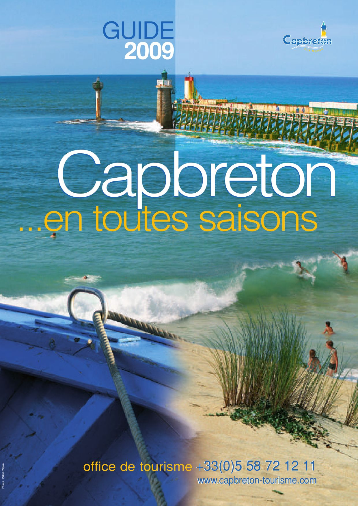 Brochure capbreton 2009 by gmt editions issuu - Office de tourisme cap breton ...