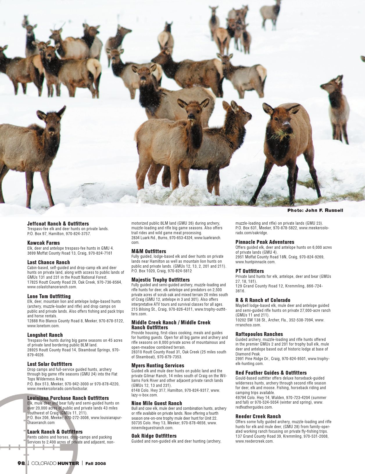 Colorado Hunter 2008 by Steamboat Pilot & Today - issuu