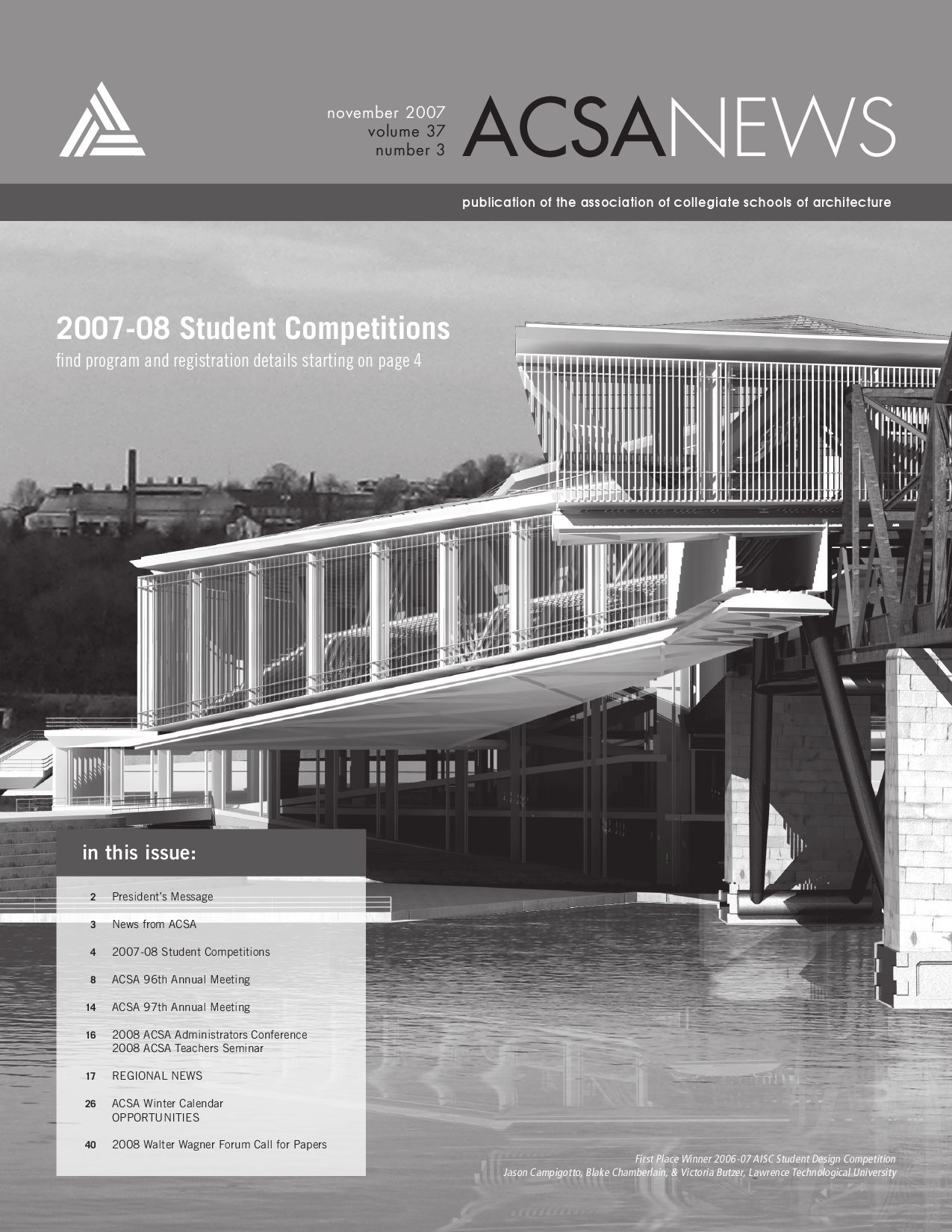 ACSA News November 2007 by Pascale Vonier - issuu