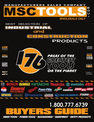 731ef7237 MSCTools Catalog 2009 by Stacie Gerber - issuu
