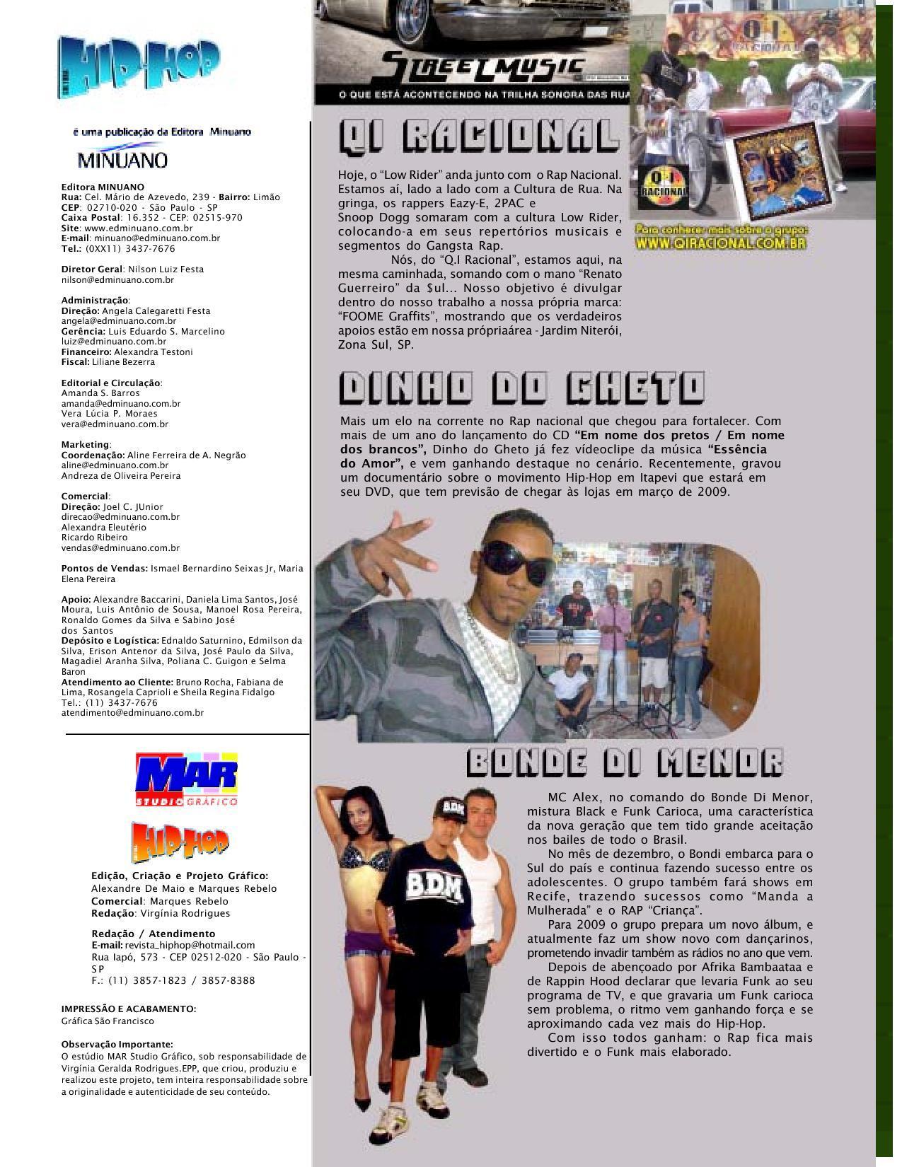 Revista Cultura Hip-Hop #4 by Alexandre De Maio - issuu
