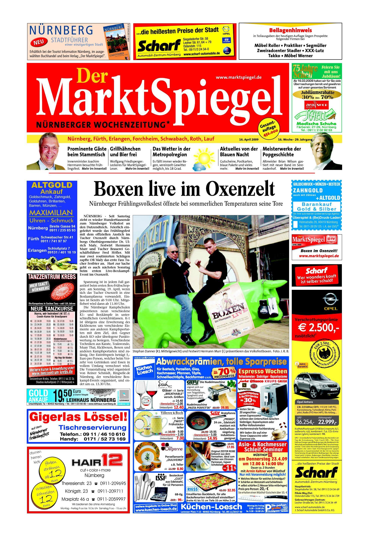 Der MarktSpiegel KW 16 09 by A Kreklau - issuu