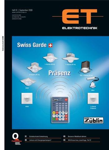 Elektrotechnik 2008/09 by Daniel Gugger - issuu
