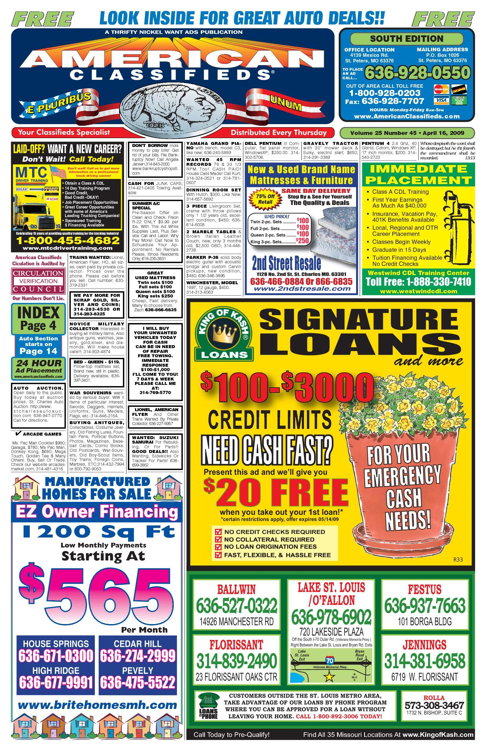 American Classifieds - St. Louis - 04