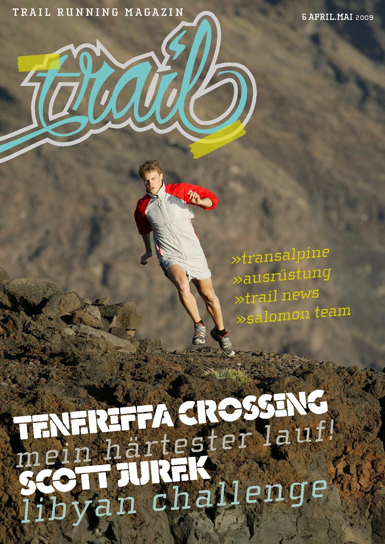 Trail Running mit Salomon Magazin Trailrunning