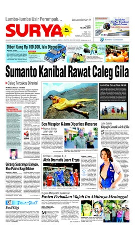 Surya Edisi Cetak 16 April 2009 by Harian SURYA - issuu 2349685566