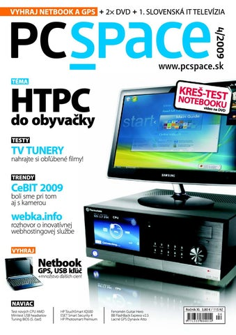 75463348b1a PCSPACE 04-2009 by PC_Space s.r.o. - issuu