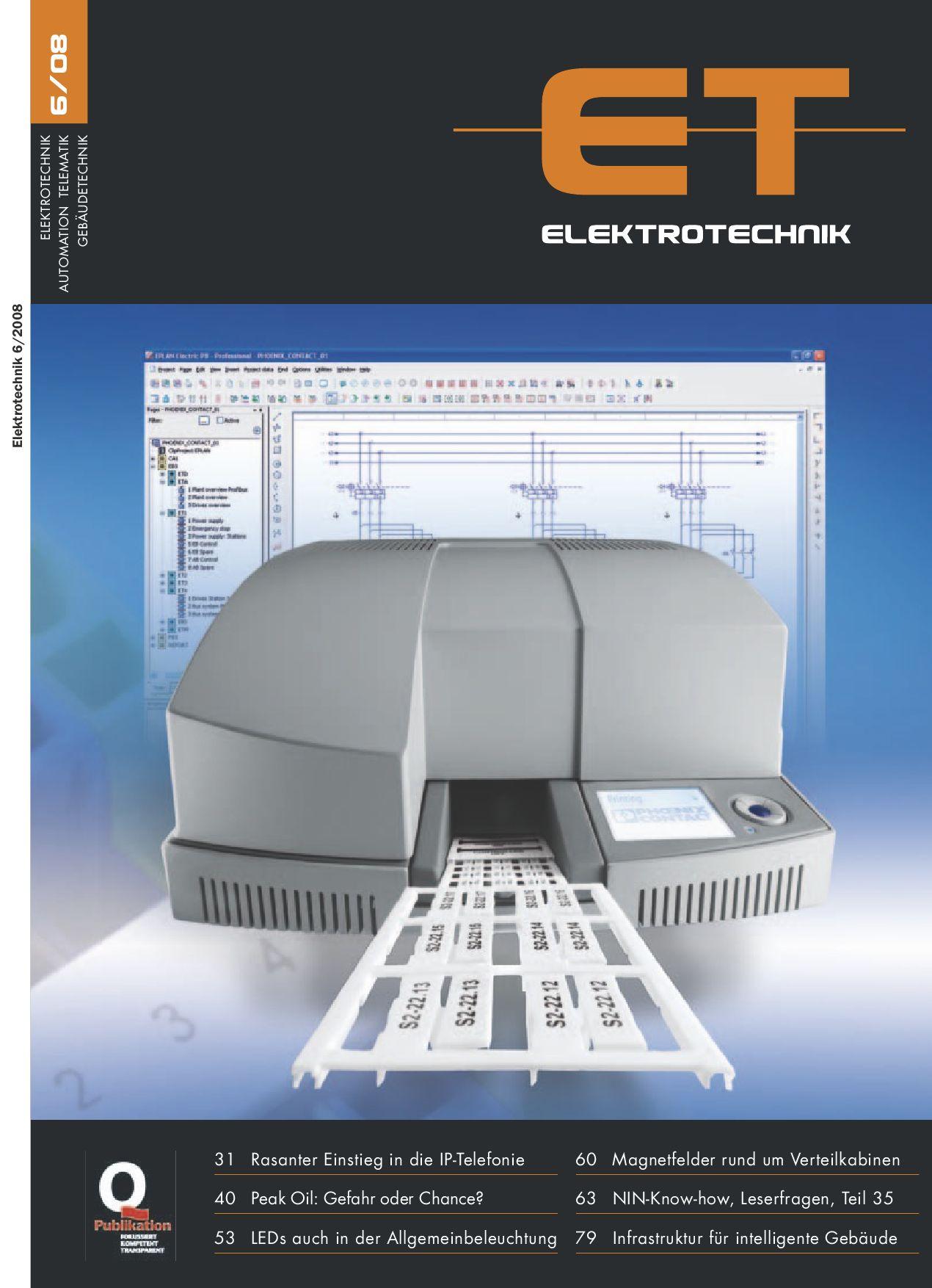 Elektrotechnik 2008/06 by Daniel Gugger - issuu