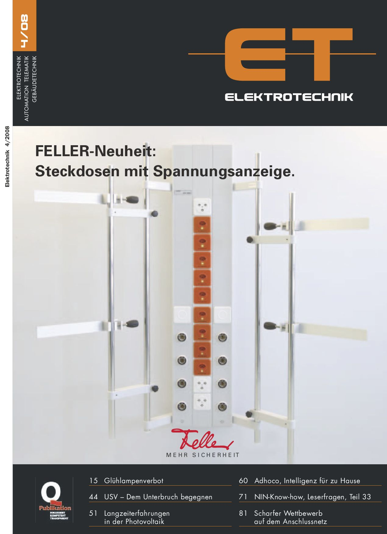 Elektrotechnik 2008/04 by Daniel Gugger - issuu