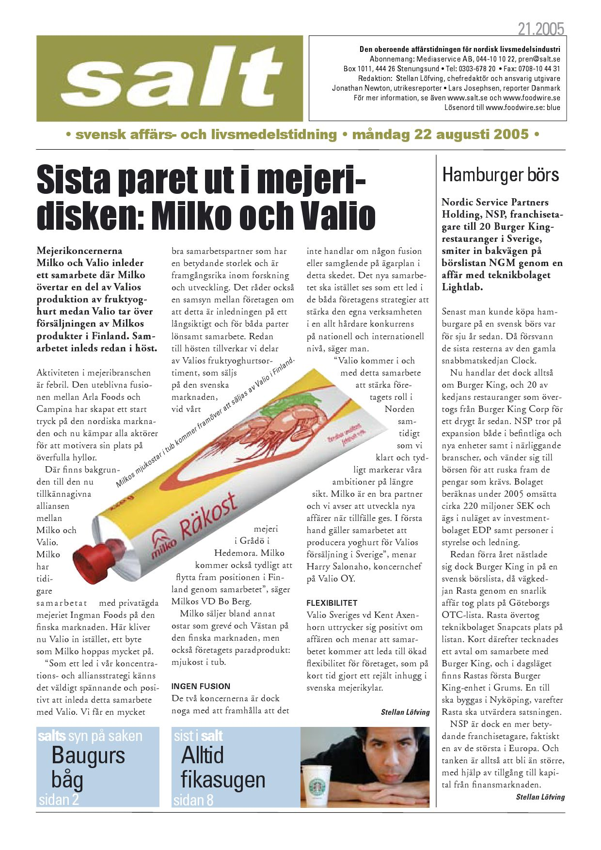 Swedish meats kops upp av finska ruokatalo