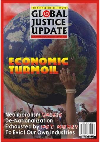 Global Justice Update Tahun Ke 6 Edisi Khusus Bahasa Inggris