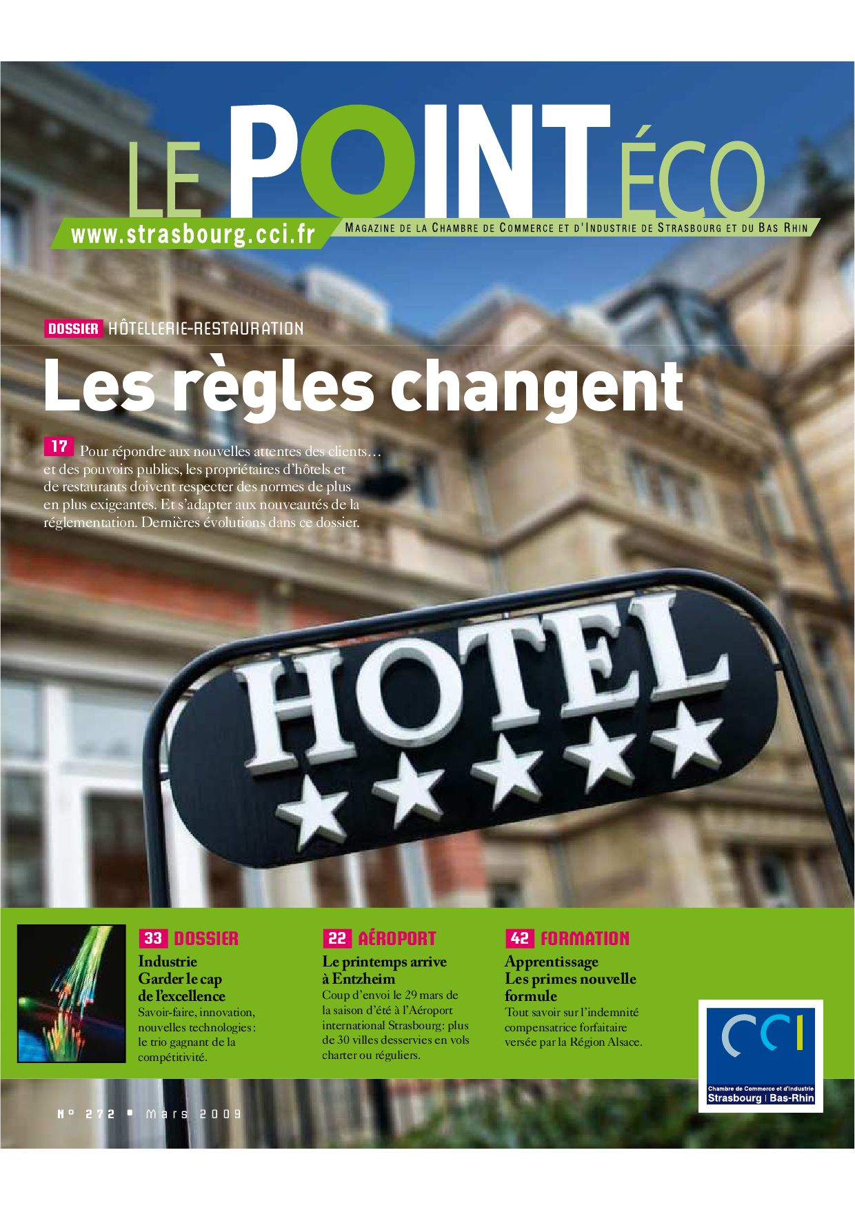 Point Eco n° 272 Mars 2009 by CCI Alsace Eurométropole issuu