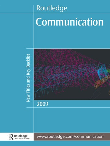 Communication 2009 us by routledge taylor francis group issuu page 1 fandeluxe Image collections