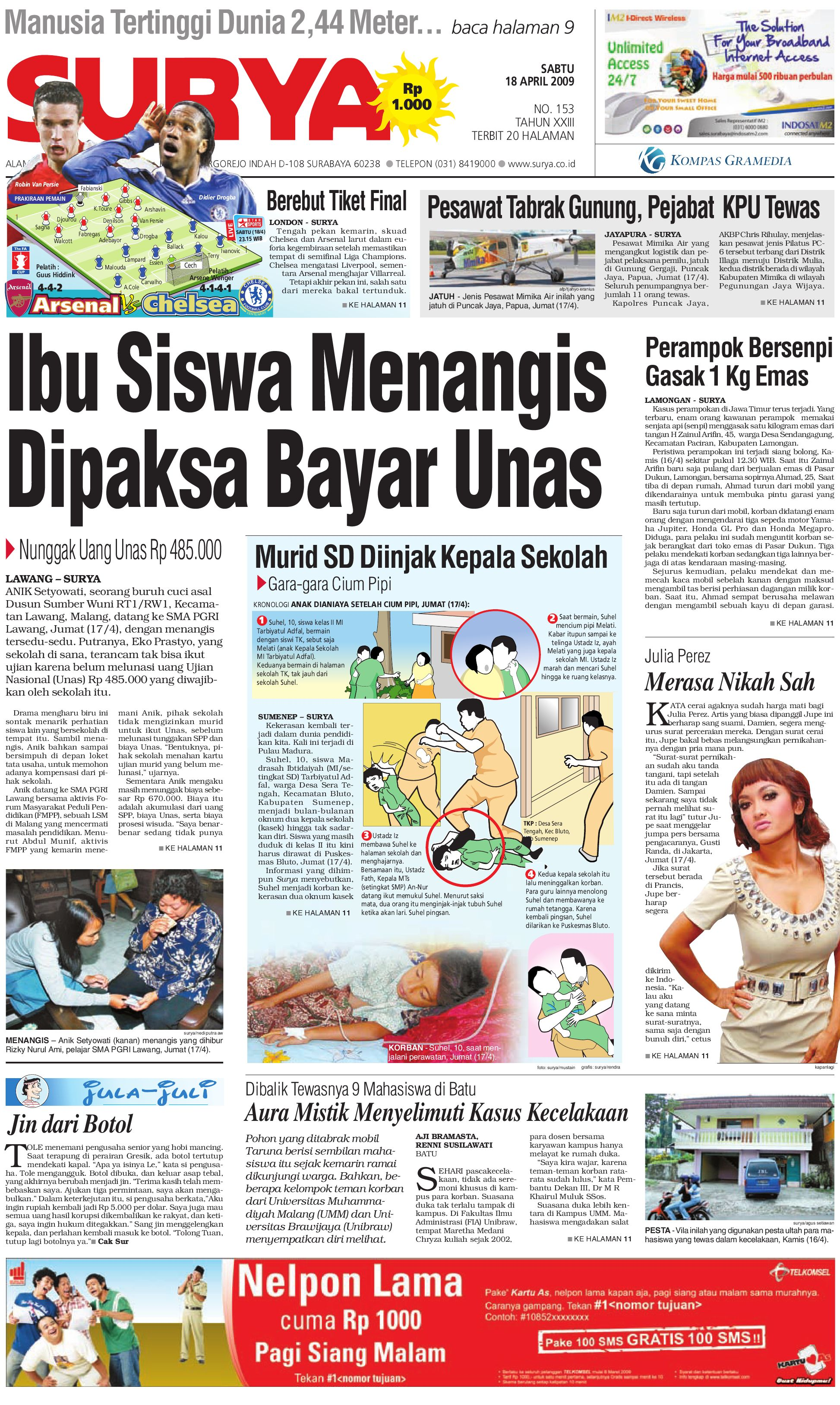 surya edisi cetak 20 mei 2009 by harian surya issuu
