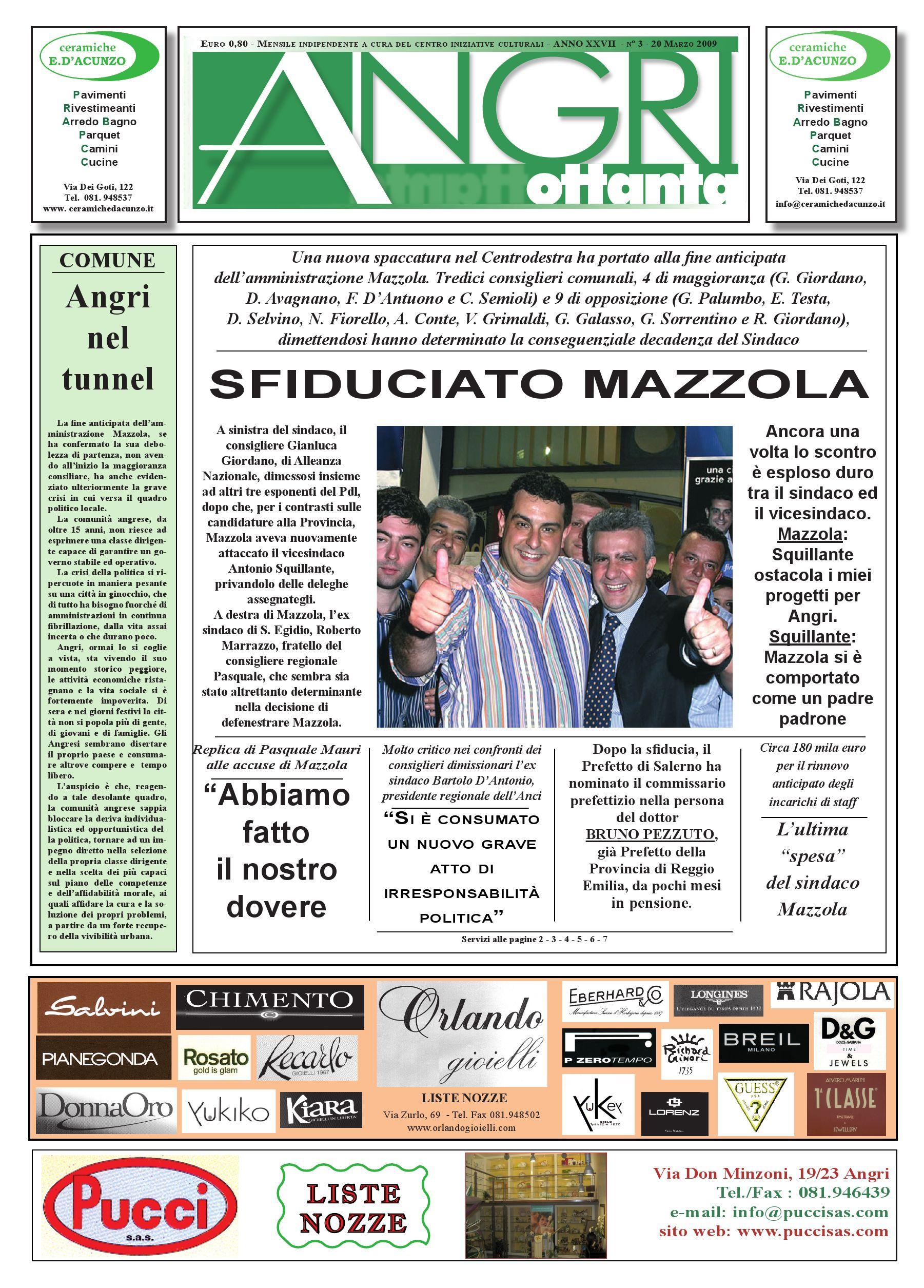 angri80.mar.09 by piazzadoria piazzadoria - issuu - Arredo Bagno Angri