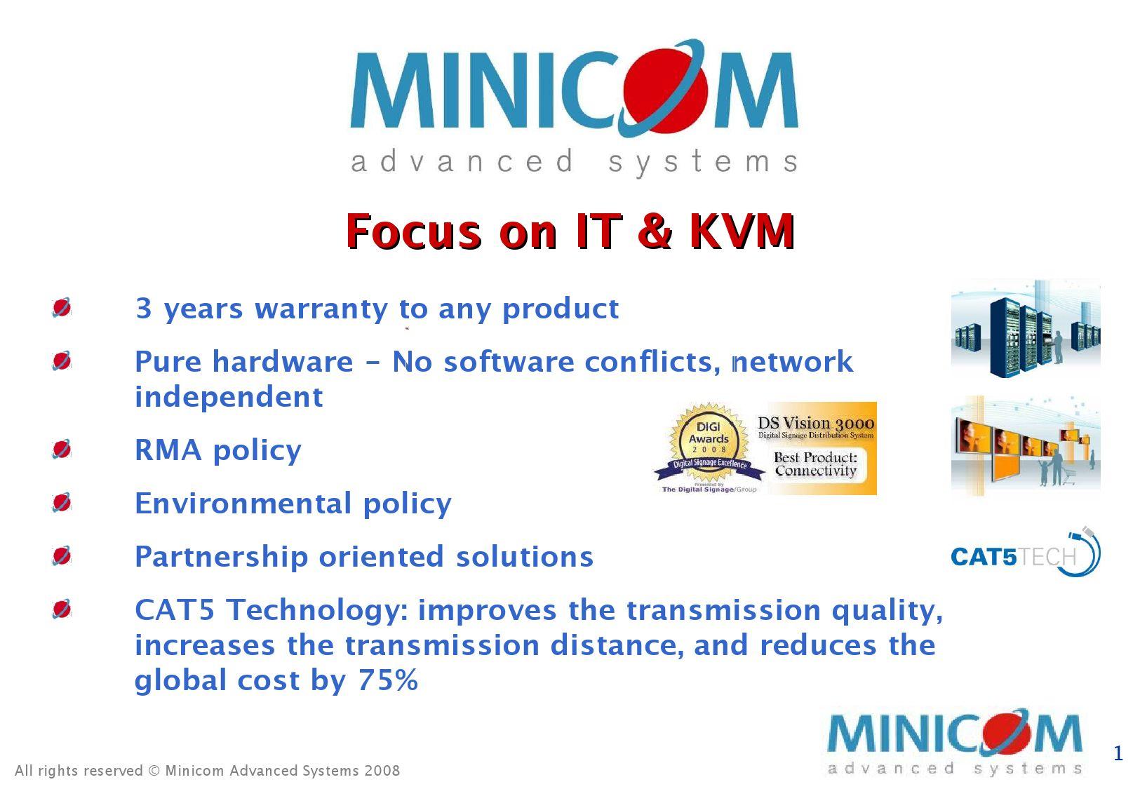 Minicom KVM Products Presentation by Denis Adda - issuu
