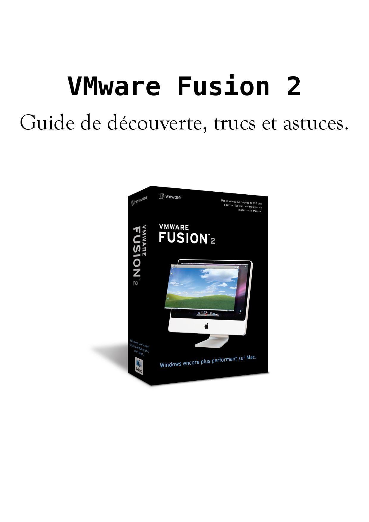 emulateur windows pour mac vmware