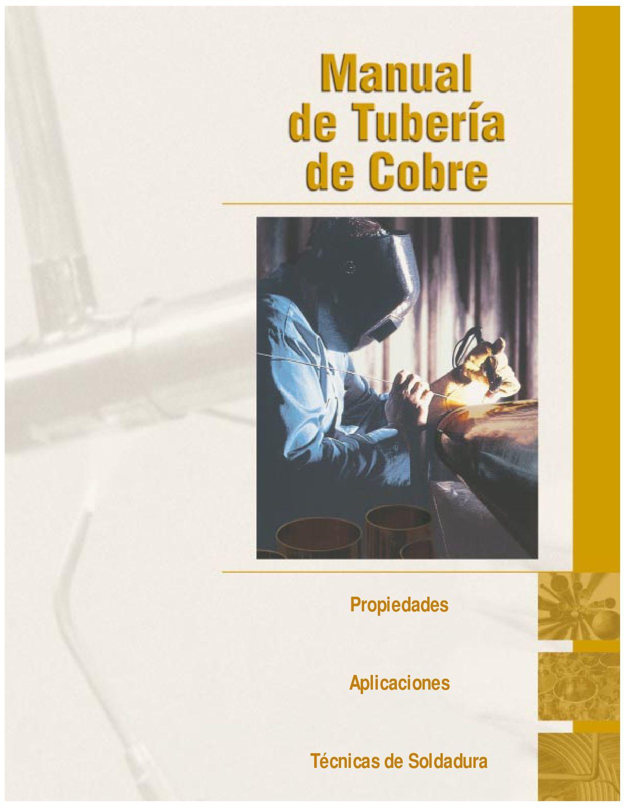 Manual de tuberias de cobre by gonzalo chong issuu - Tuberias de cobre ...